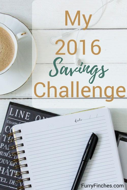 My 2016 Savings Challenge