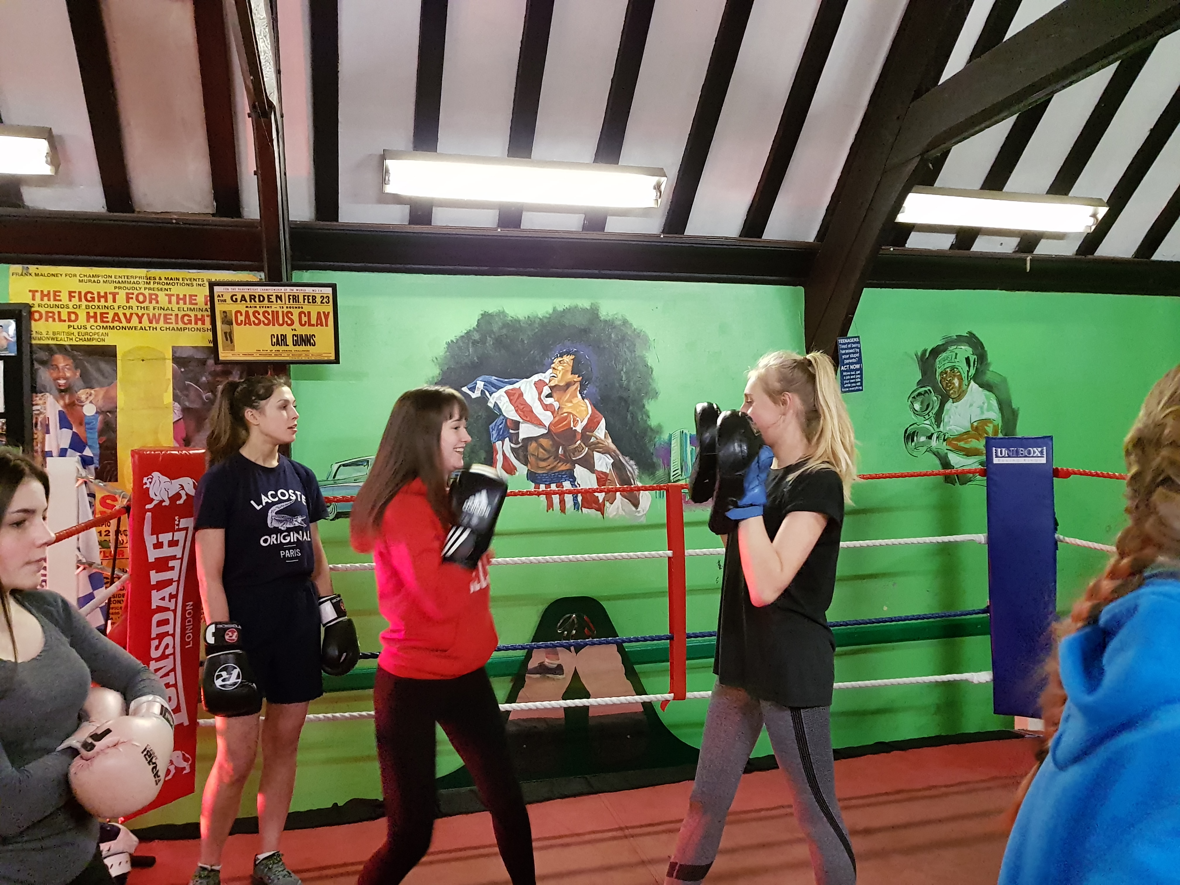 Community Grant Scheme Awards Grant To Carl Gunn's Boxing Gym