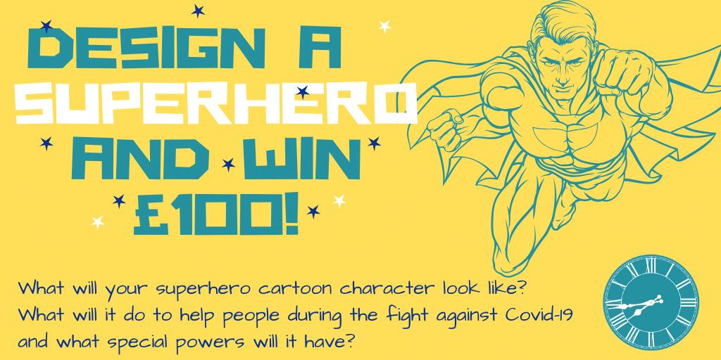 Clockwise Superhero Competition